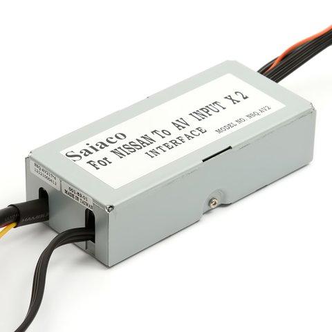 Автомобильный видеоинтерфейс для Nissan / Infiniti Превью 2