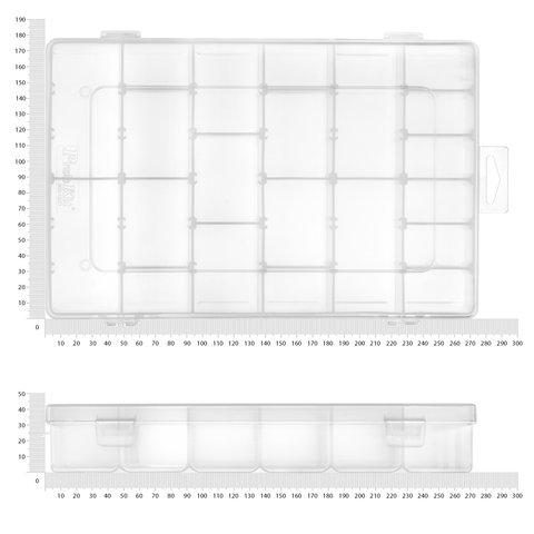 Касетниця для компонентів Pro'sKit 103-132D (275x177x42.5 мм) Прев'ю 3