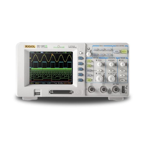 Цифровой осциллограф RIGOL DS1062CD Превью 1